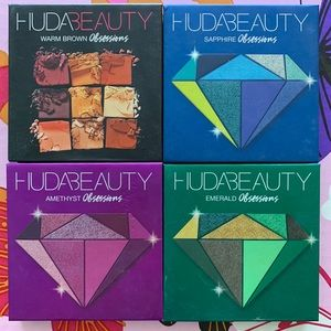 Huda Beauty Obsessions Eyeshadow Bundle